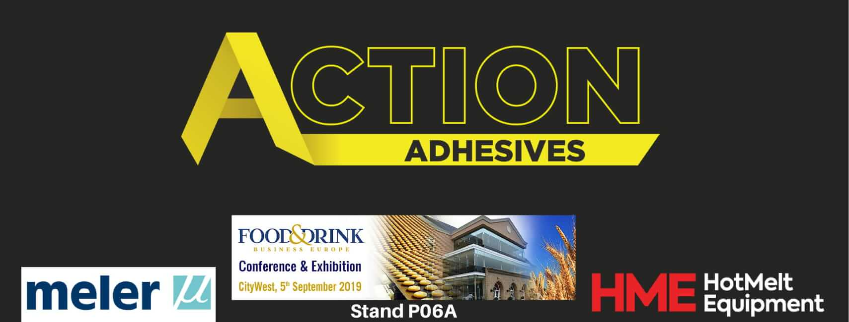 Action Adhesives at the Food & Drink Expo